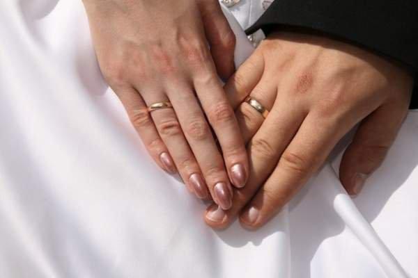 Обручальное кольцо на какой руке носят в сша